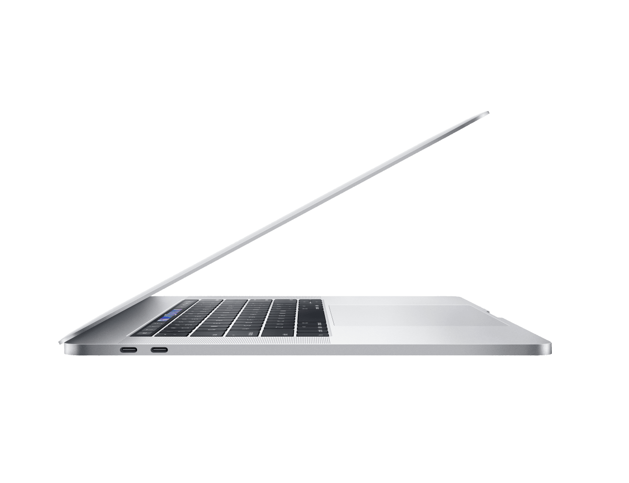 "Silber Apple 15"" MacBook Pro Touch Bar (Mid 2019).2"