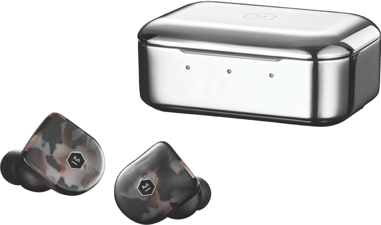 Gray Terrazzo Master & Dynamics MW07 In-ear Bluetooth Headphones.1