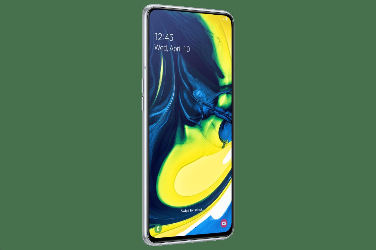 Ghost White Samsung A80 128GB.1