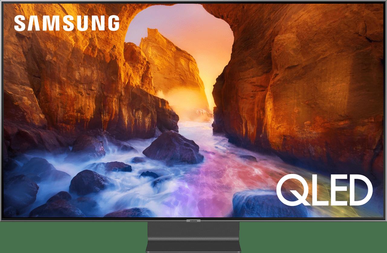 """Schwarz Samsung TV 55"""" Q90R.1"""
