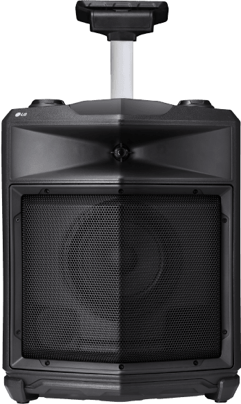 Black LG RK3 One-Body & LOUDR Speaker System .1