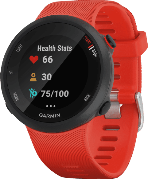 Red Garmin Forerunner 45.1
