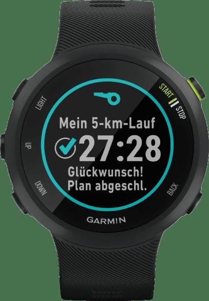 Schwarz Garmin Forerunner 45.2