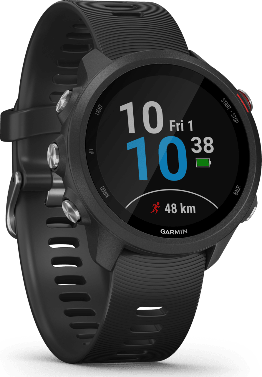 Black Garmin Forerunner 245 GPS Sports watch.2