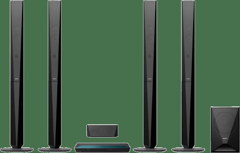 Black Sony BDV-E6100.1