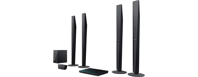 Black Sony BDV-E6100.2