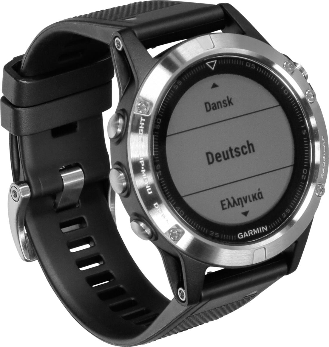 Silver / Black Garmin Fēnix® 5, 240mm .3
