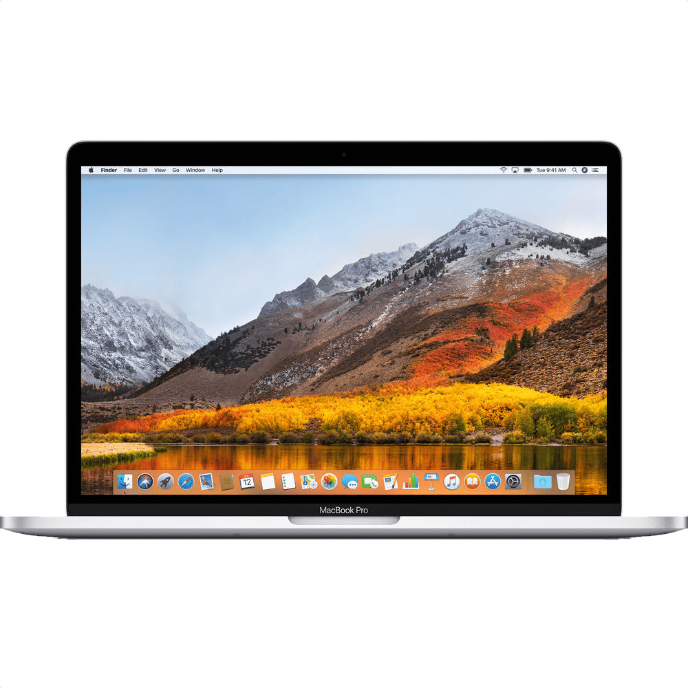"Silber Apple 13"" MacBook Pro Touch Bar (Mid 2018).1"