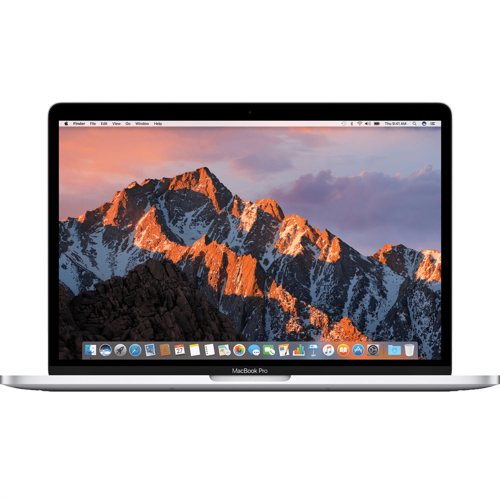 """Silver Apple 13"""" MacBook Pro Touch Bar (Mid 2017).1"""