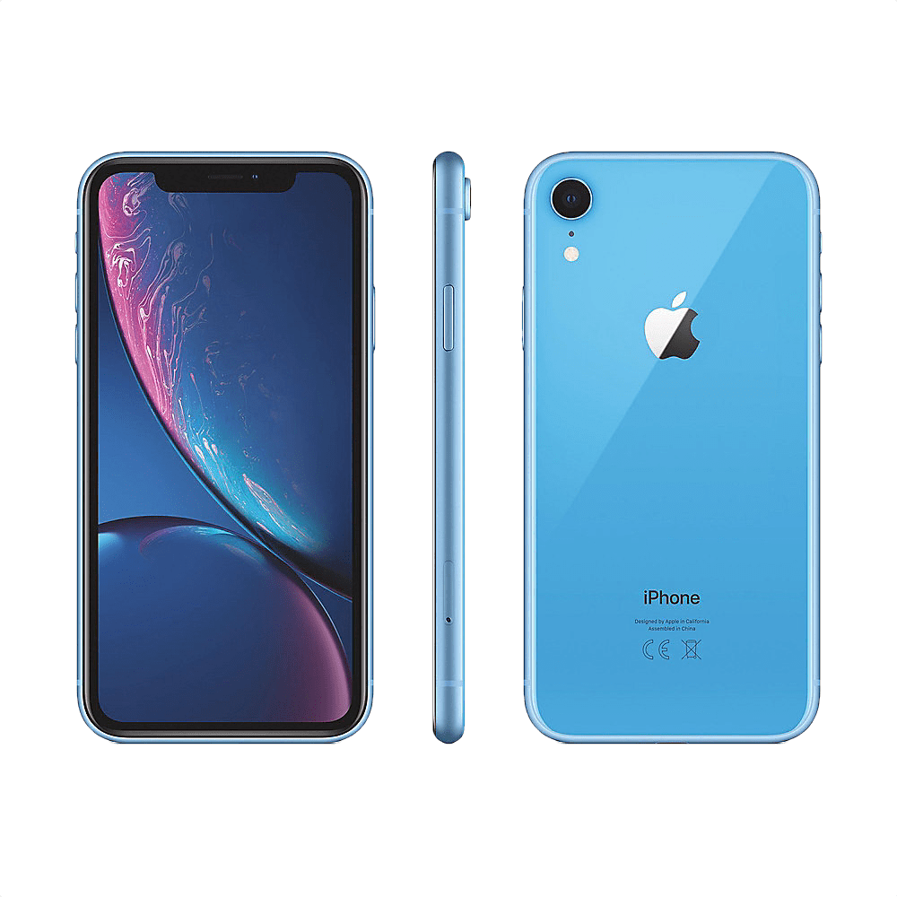 Blue Apple iPhone Xr 128GB.2