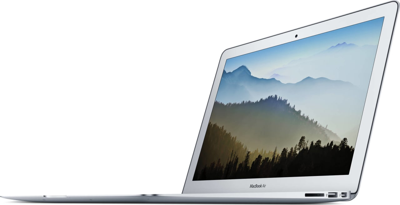"Silver Apple 13"" MacBook Air (Mid 2017).2"