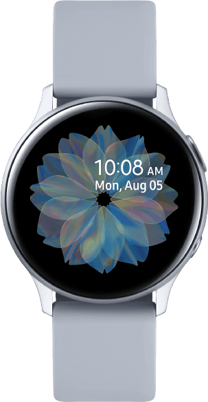 Cloud Silver Samsung Galaxy Watch Active2, 40mm Aluminium case, Sport band.1