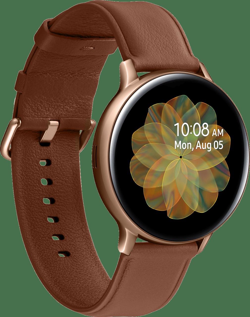 Gold Samsung Galaxy Watch Active2, 44mm.2