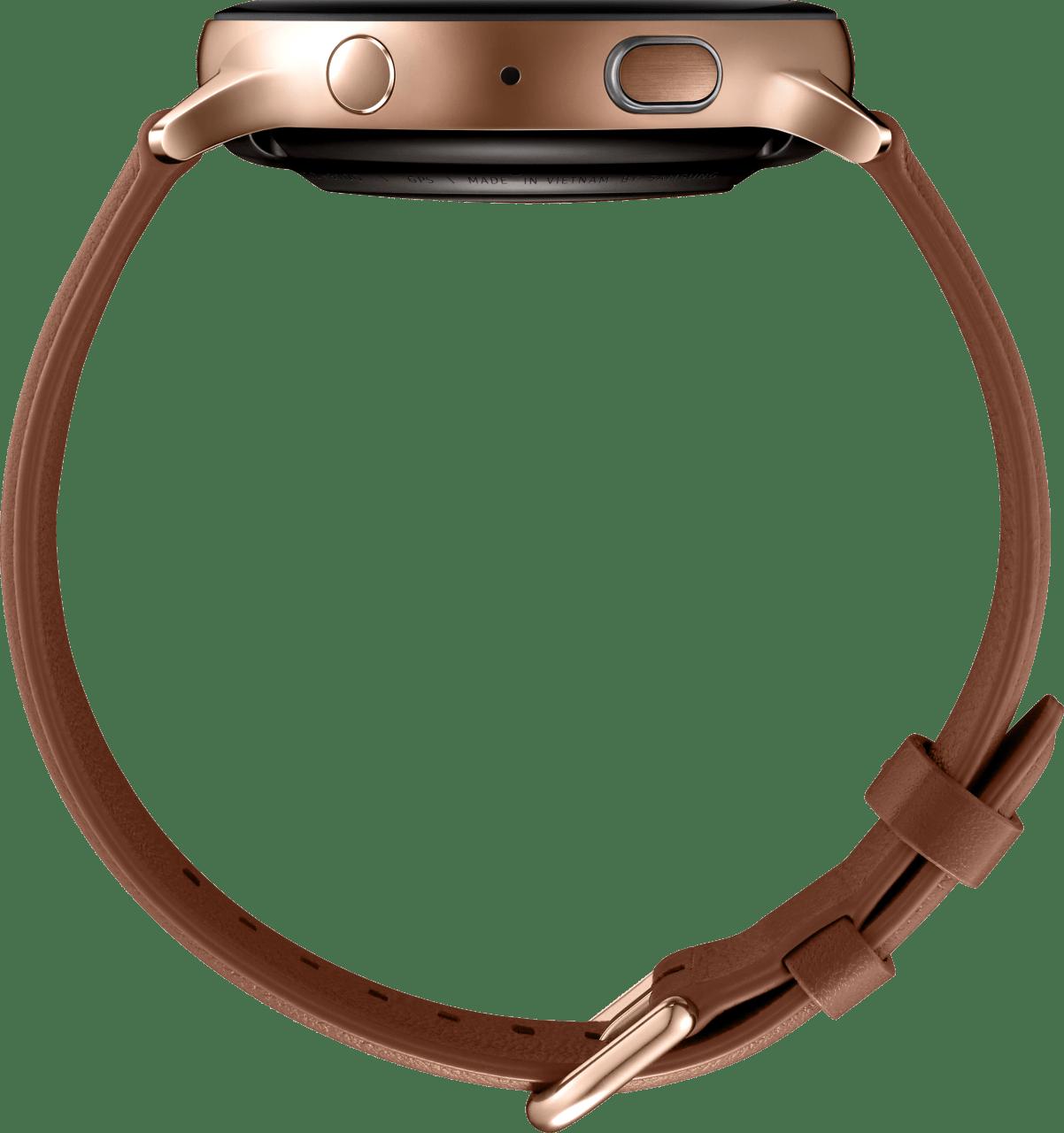 Gold Samsung Galaxy Watch Active2, 44mm.4