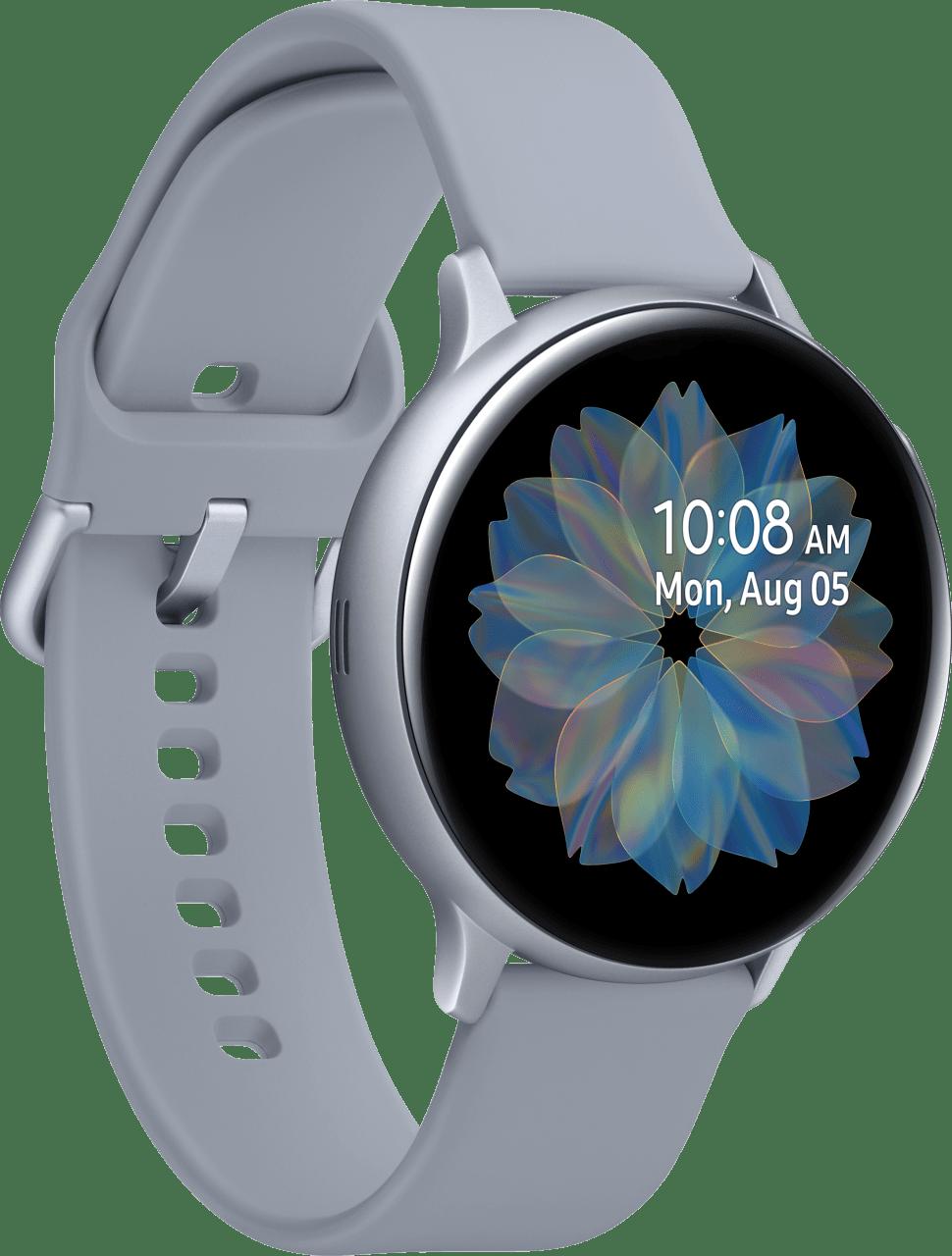 Cloud Silver Samsung Galaxy Watch Active2, 44mm Aluminium case, Sport band.2