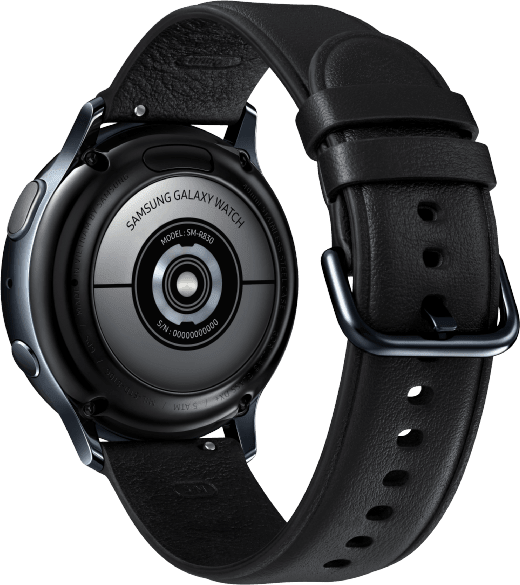 Black Samsung Galaxy Watch Active2, 40mm.2
