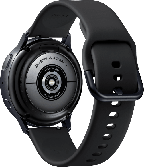 Aqua Black Samsung Galaxy Watch Active2, 40mm.3