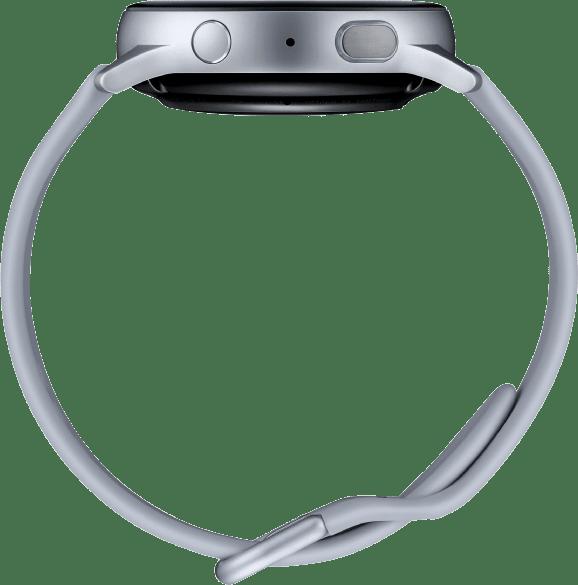 Cloud Silver Samsung Galaxy Watch Active2, 40mm Aluminium case, Sport band.4