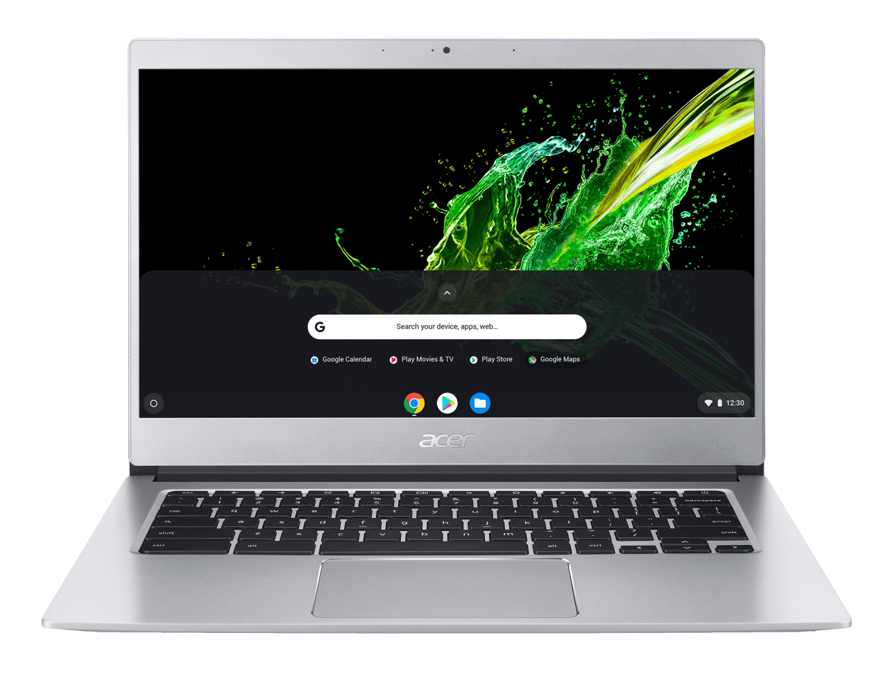 Silver Acer Chromebook 514.1