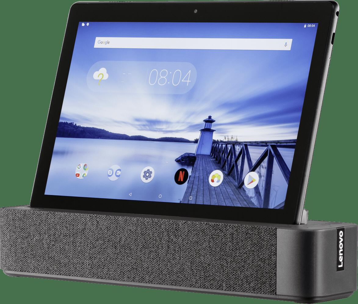 Slate Black Lenovo M10 Smart Tab .1