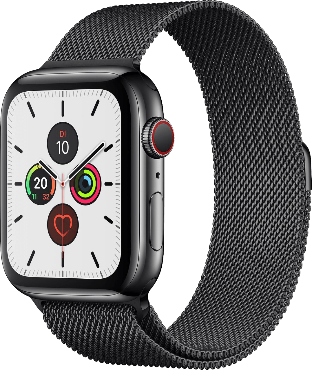 Space Black Apple Watch Series 5 GPS + Cellular, 40mm.2