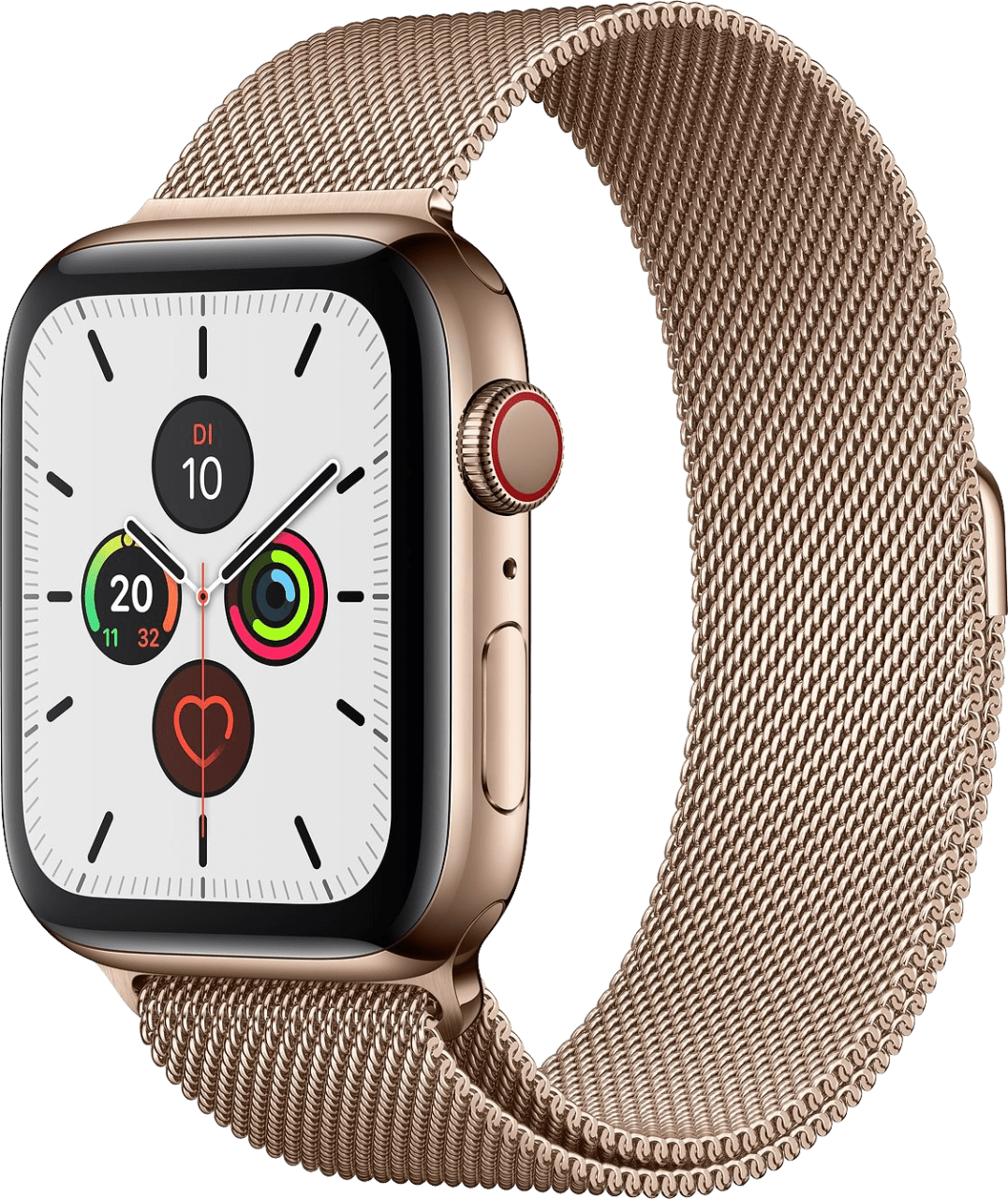 Gold Apple Watch Series 5 GPS + Cellular, 40mm.2