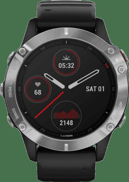 Black Garmin Fenix 6 GPS Sports watch.1