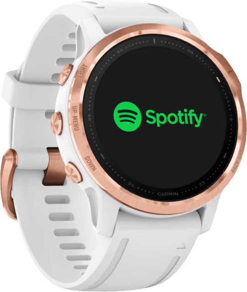 White Garmin Fenix 6s Pro GPS Sports watch.4