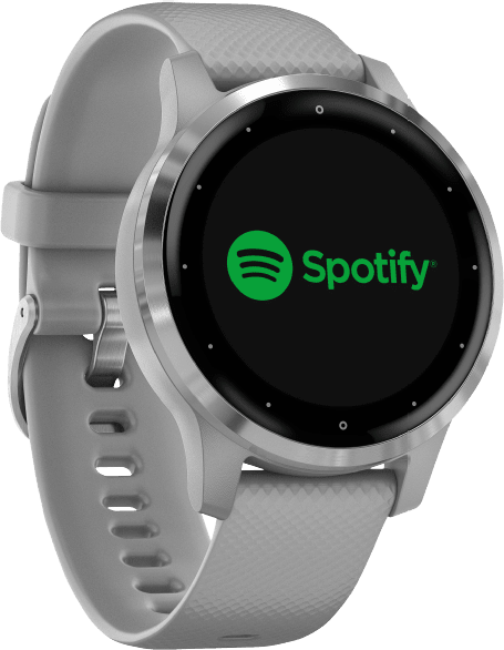 Gray Garmin Vivoactive 4s GPS Sports watch.2