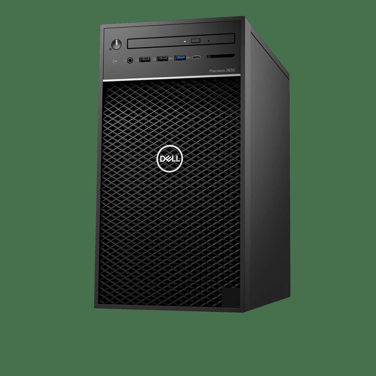 Schwarz Dell Precision 3630.2