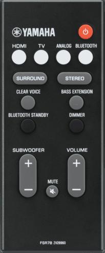 Black Yamaha ATS-2070.3
