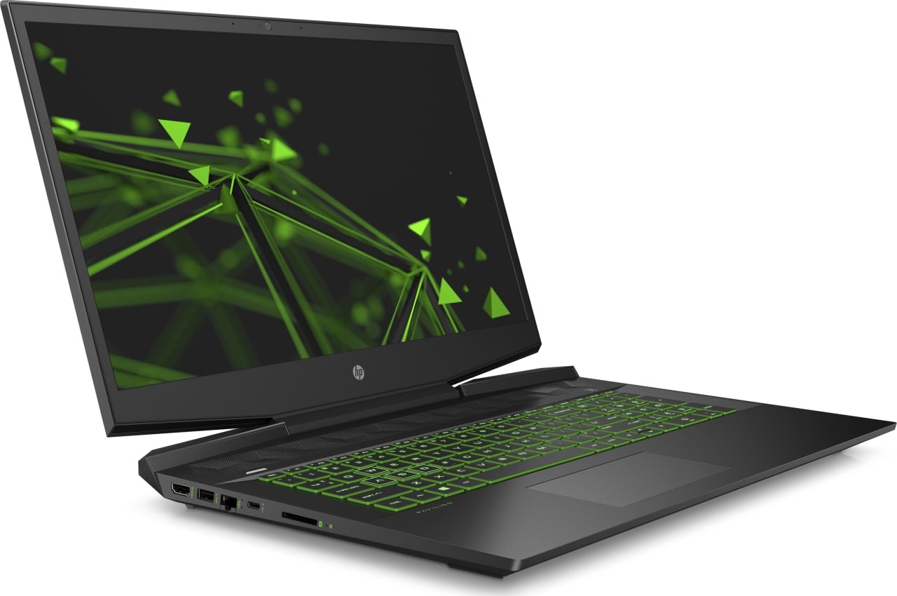 Shadow Black / Acid Green HP Pavilion Gaming 17-cd0000ng.3