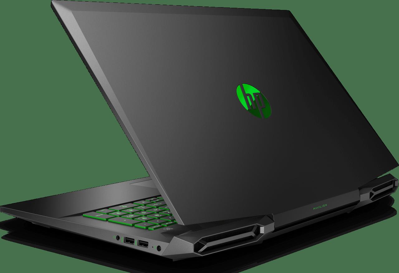 Shadow Black / Acid Green HP Pavilion Gaming 17-cd0000ng.4