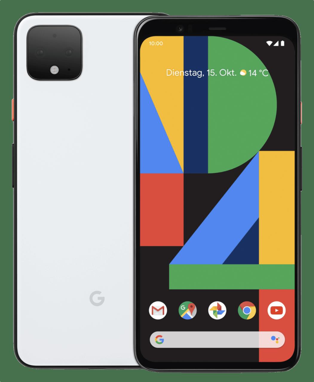 Clearly White Google Smartphone Pixel 4 XL - 64GB - Dual Sim.1