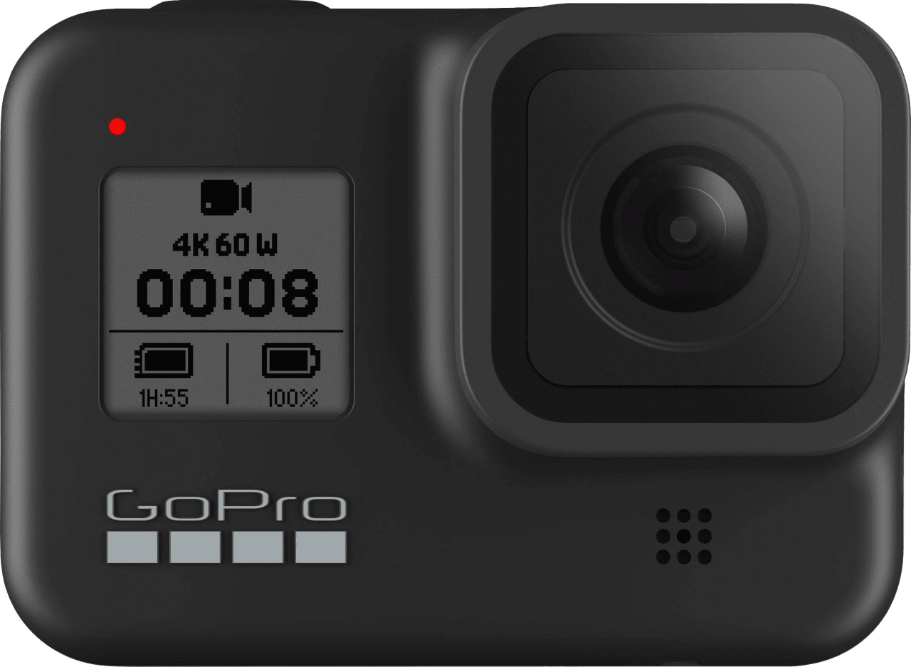 Schwarz GoPro HERO8.1
