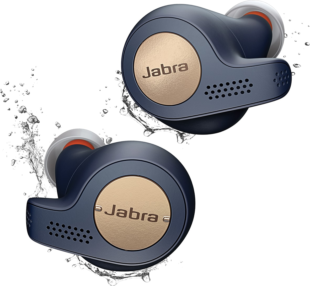 Blue Copper Jabra Elite Active 65T In-ear Bluetooth Headphones.1