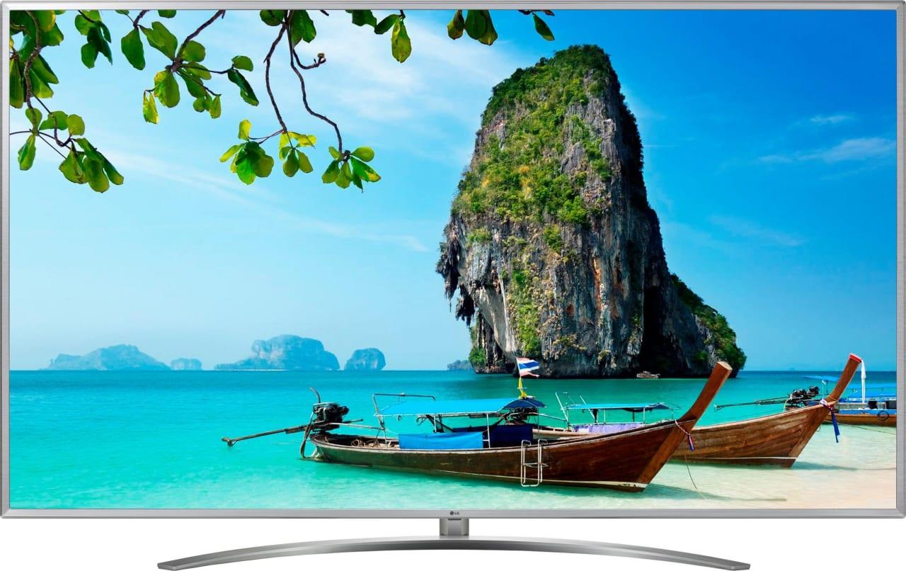 "Schwarz LG TV 75"" UM7600.1"