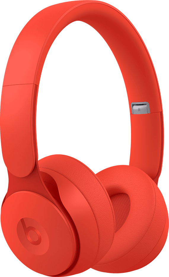 Red Beats Solo Pro Noise-cancelling Over-ear Bluetooth Headphones.1