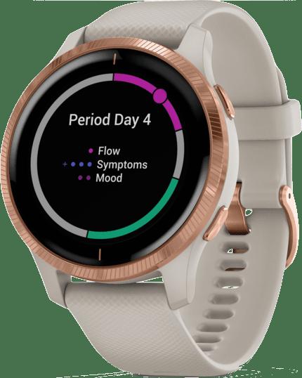 Beige Garmin Venu Smartwatch.2