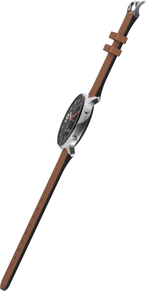 Edelstahlgehäuse & Braun Amazfit GTR, 47.2mm.3