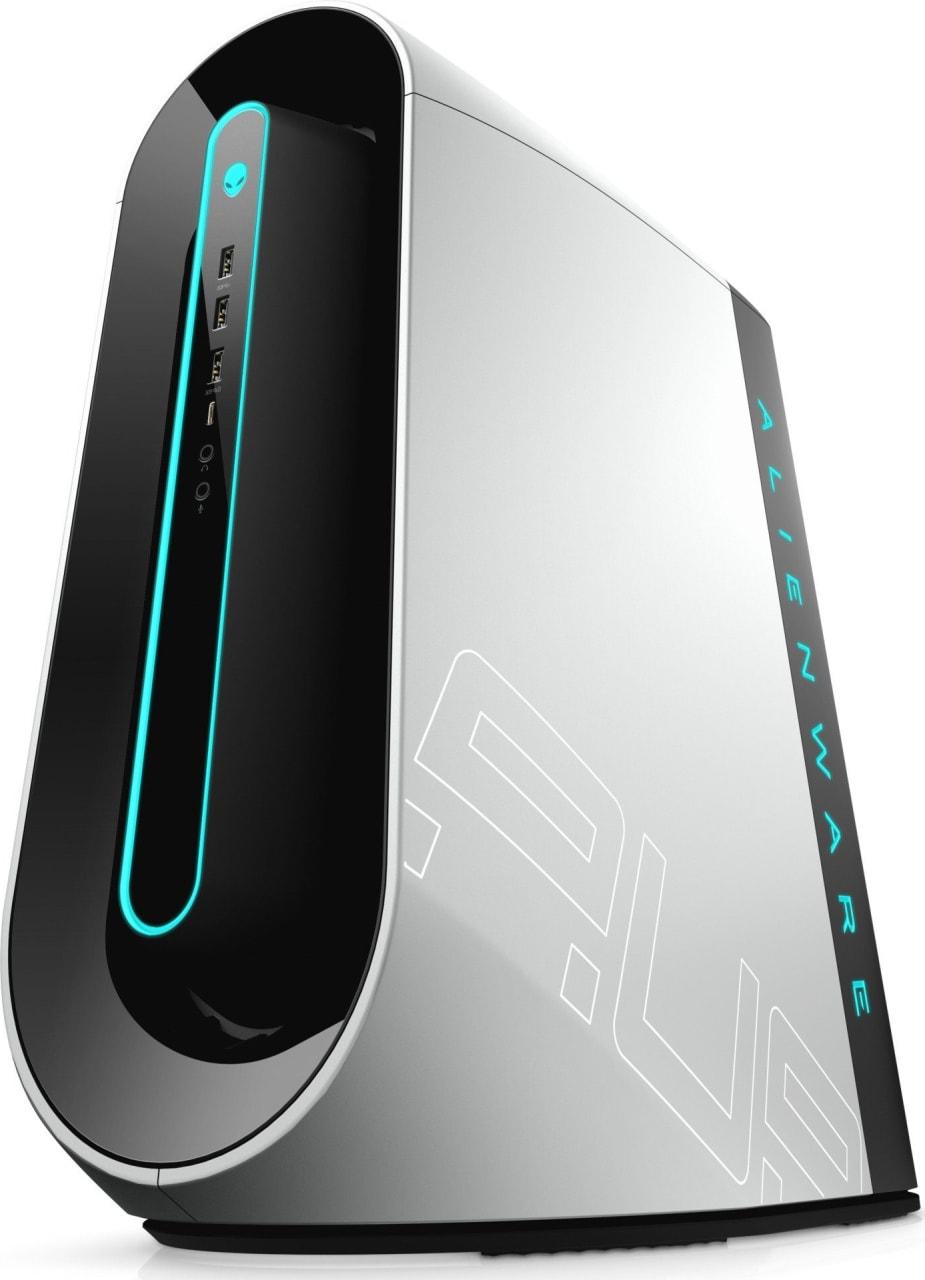 White / Silver Alienware Aurora R9.2
