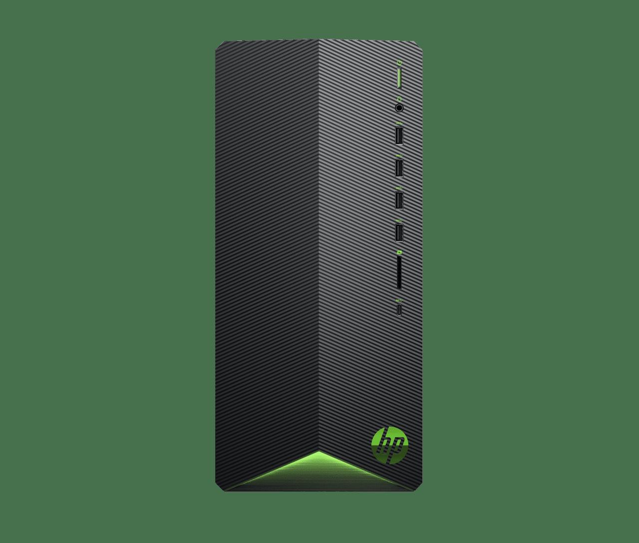 Black HP Pavilion Gaming Desktop TG01-0020ng.1