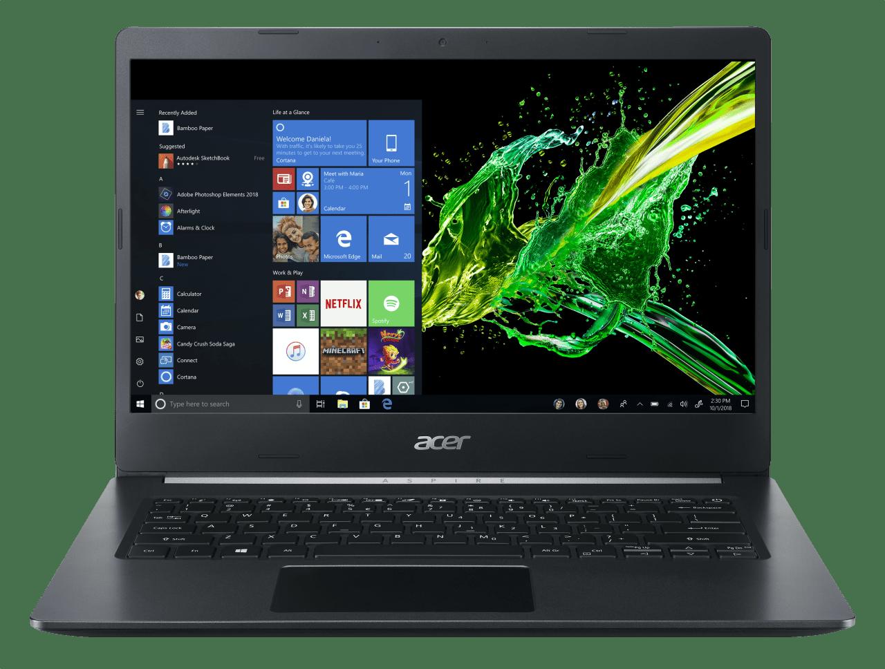 Black Acer Aspire 5  A514-52G-5303.1