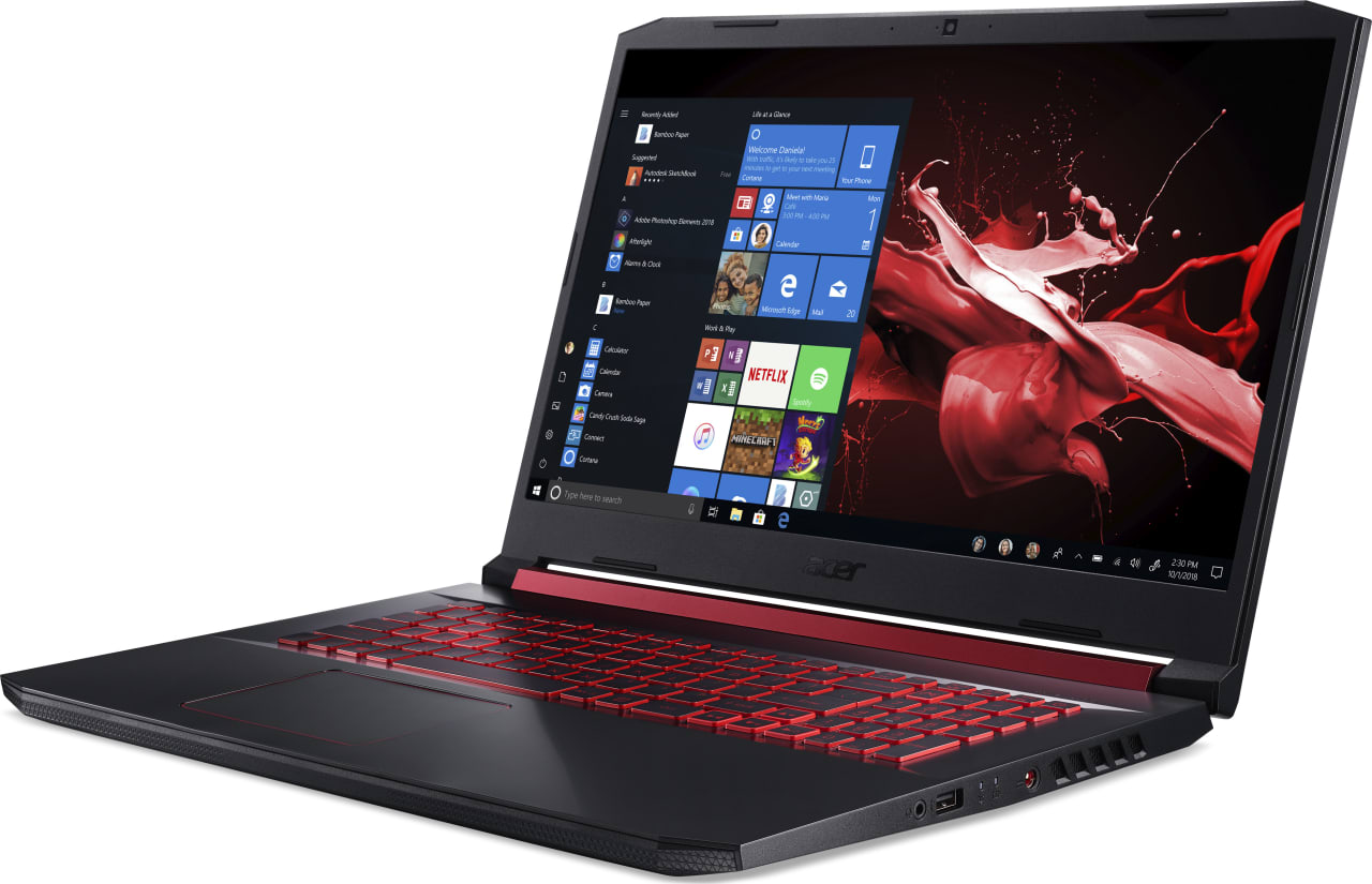 Black / Red Acer Nitro 5 AN517-51-56EU.2