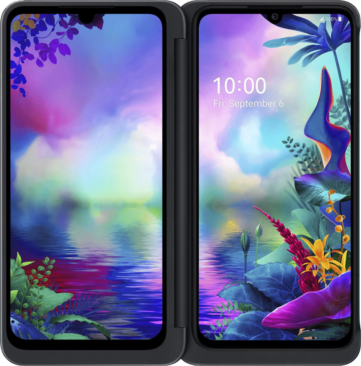 Schwarz LG G8X ThinQ Dual Screen 128 GB Dual SIM.2