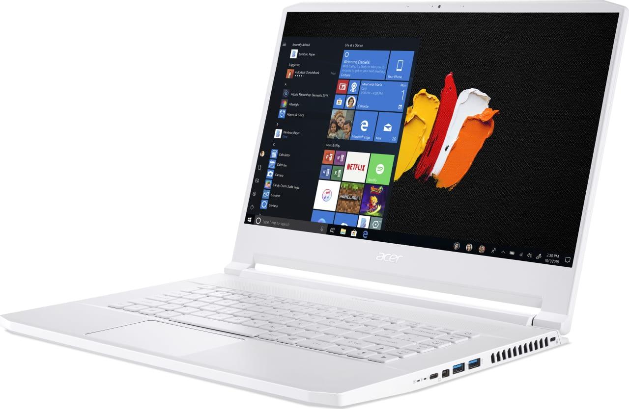 White Acer ConceptD 7 CN715-71-743N.2