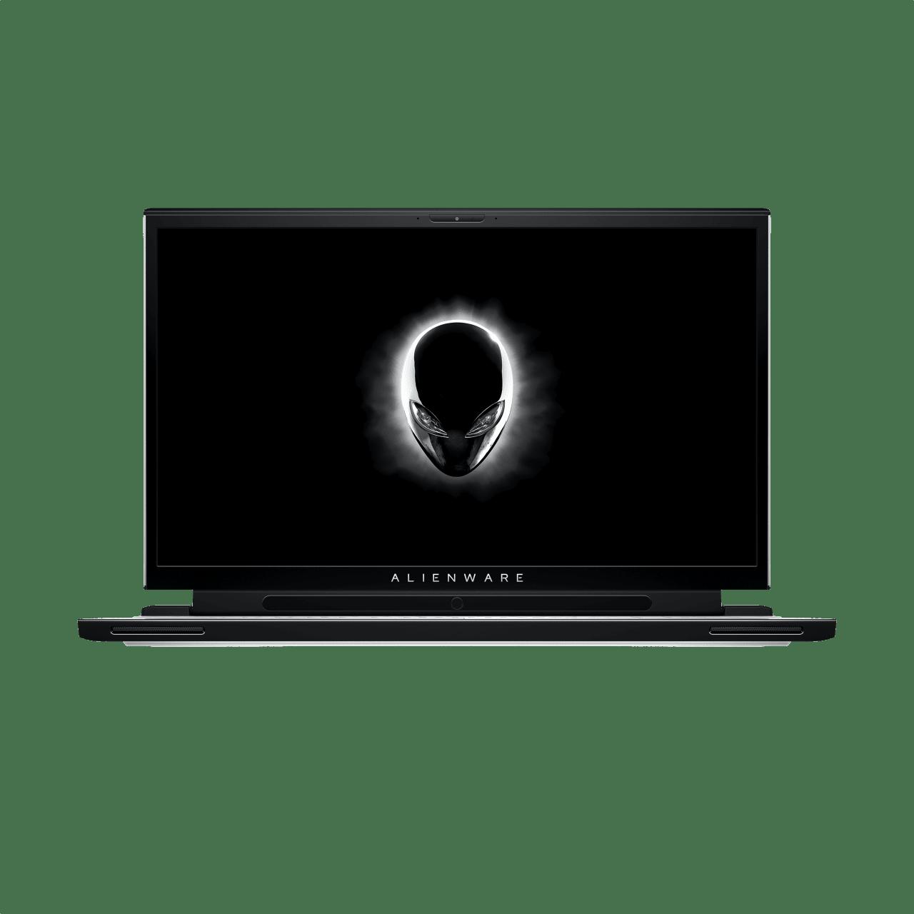 Schwarz / Weiß Alienware M17 R2.1