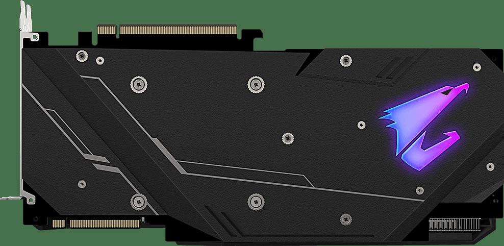 Black Gigabyte AORUS GeForce® RTX™ 2080 Super™ 8G.2