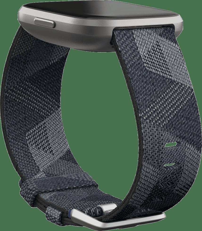 Smoke Woven Fitbit Versa 2 SE.4