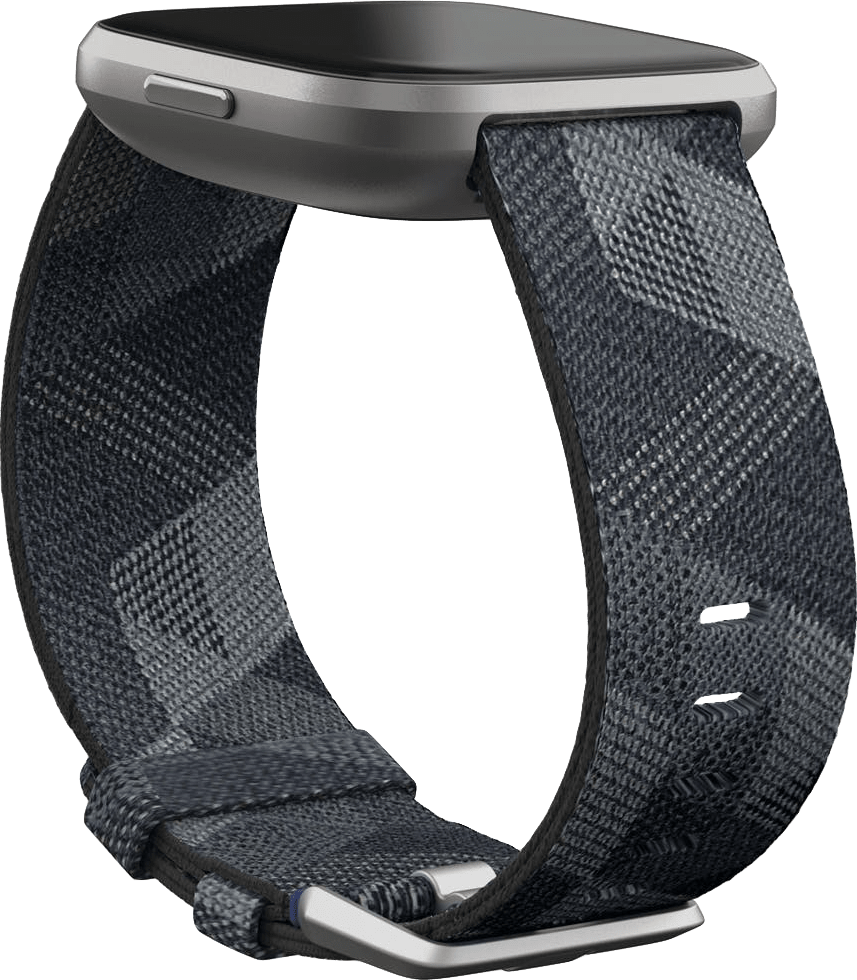 Smoke Woven Fitbit Versa 2 SE Smartwatch.4